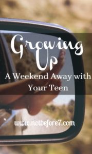 The resources and ideas I used to plan a weekend away with my teenage daughter.