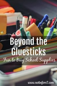 My favorite school supplies to kick off our homeschool year.