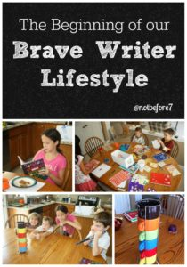 Read about the beginning of our Brave Writer Lifestyle.