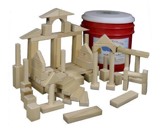 Building Toys - Natural Wood Blocks