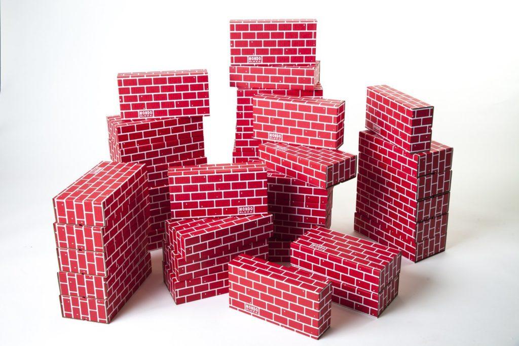Building Toys - cardboard bricks