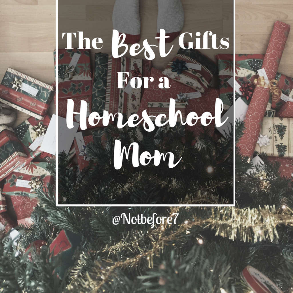 Check out this list of the Best Gifts for a Homeschool Mom.