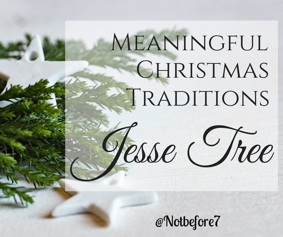 Learn the various ornaments we have used to represent the stories told through our Jesse Tree.