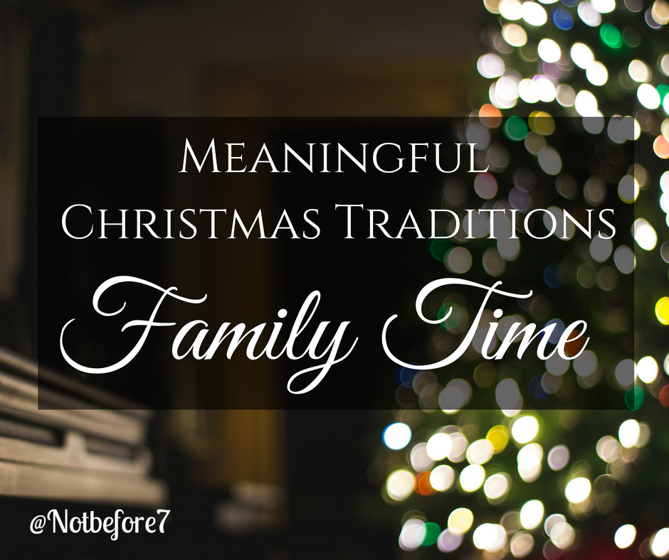 Make time for family time this holiday season. Check out a few ideas here.