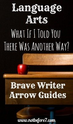 A review of the Brave Writer Arrow Guides and how they transformed language arts in our homeschool.