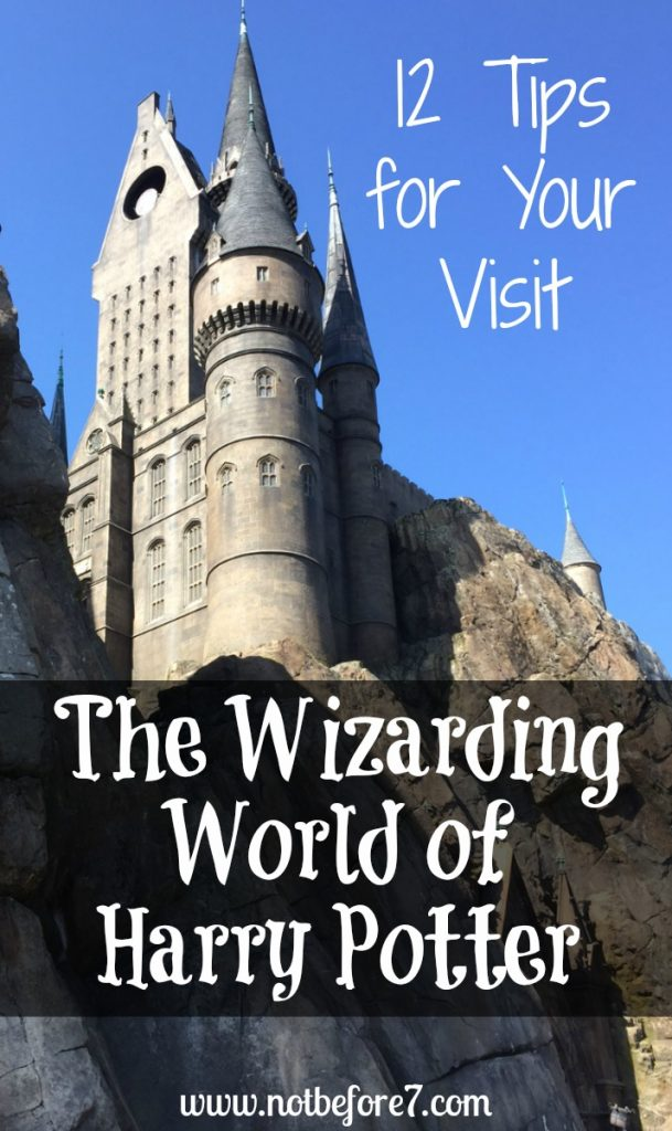 Twelve tips for making the most of your visit to Harry Potter World!