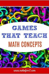 Games that Teach Math Concepts