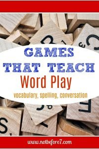 Games that Teach Word Play.