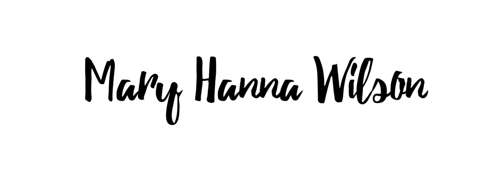 Mary Hanna Wilson
